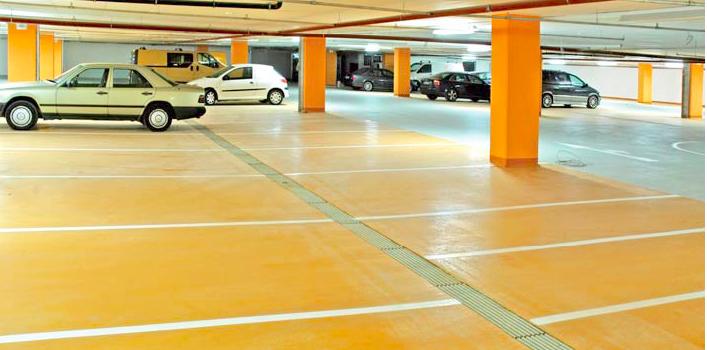rigole parking - aplicatii